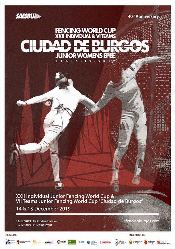 14/15 Décembre: Coupe du Monde M20 à Burgos et Circuit National Vétérans au Havre