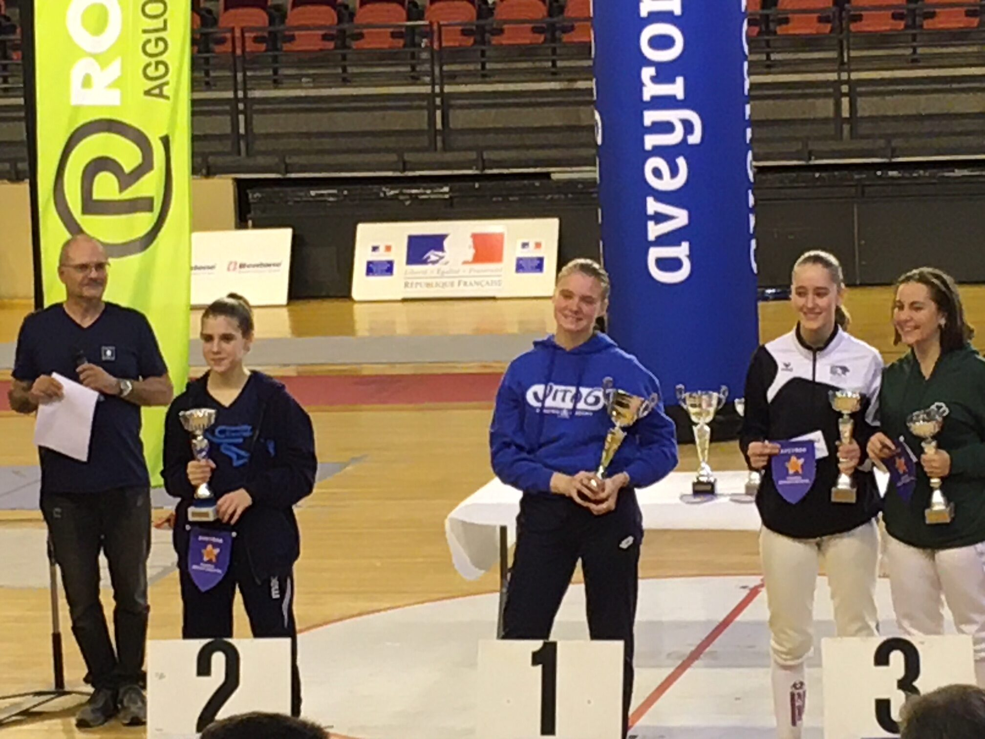 3 podiums au Circuit National M17 à Rodez – 30/11 et 01/12